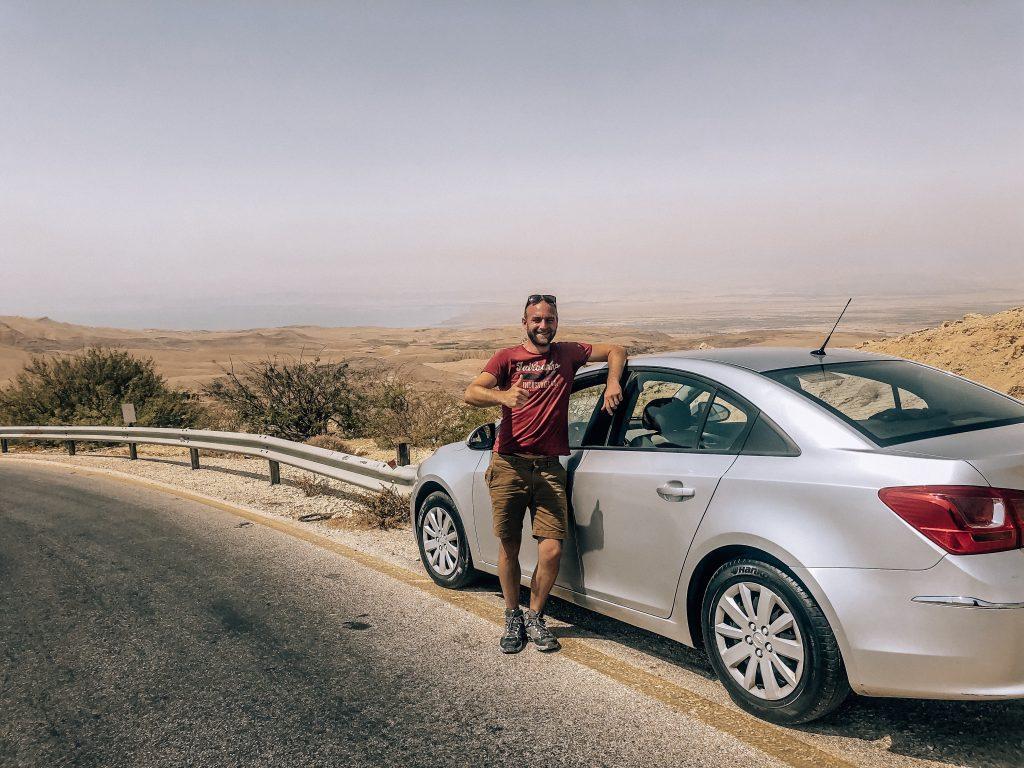 Ju on the Road - Roadtrip de 7 jours en Jordanie : conseils et itinéraire - voiture louée avec Thrifty
