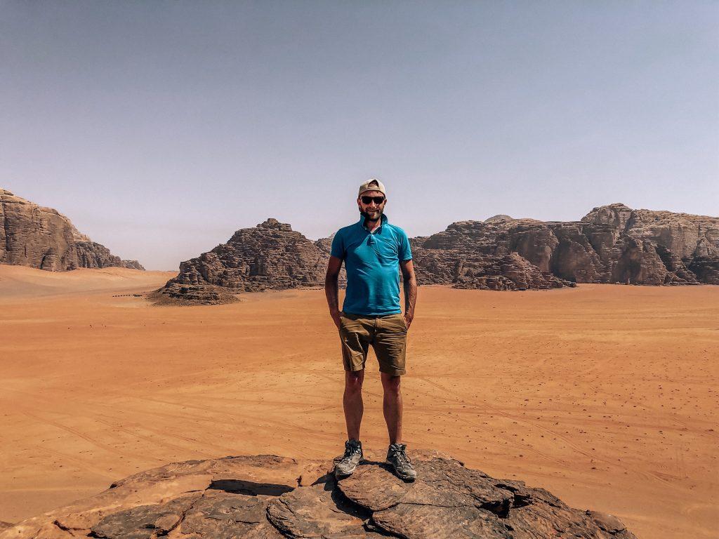 Dormir dans le désert du Wadi Rum en Jordanie